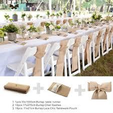 Burlap Chair Sash Online Shop Rustic Wedding Decoration Burlap Chair Sashes Jute Tie