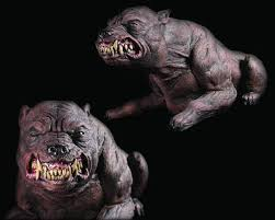 animated props mad dog electric animated decoration the horror dome