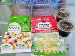 wasabi mustard condiments galore wasabi mustard two types soy sauce two types