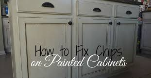 Kitchen Cabinet Drawer Repair How To Touch Up Chipped Paint And Maintain Painted Cabinets Hometalk