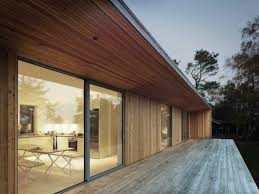 Pictures Of A Frame Houses Wood And Glass Frame Of A Summer House Surrounded By Woods On