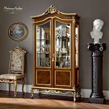 classic china cabinet wooden casanova 12102 modenese gastone