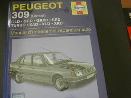 peugeot 309 diesel french service u0026 repair manuals french