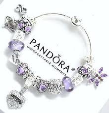 ebay charm bracelet silver images Authentic pandora charm bracelet silver mom purple european charms jpg