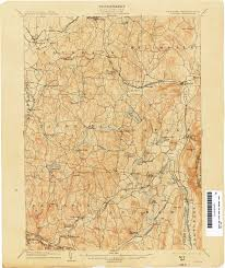 New London Ct Map New York Topographic Maps Perry Castañeda Map Collection Ut