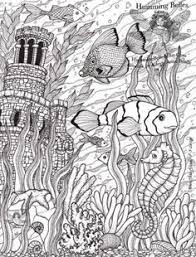 ocean octopus fist sand dollar seaweed coloring pages colouring