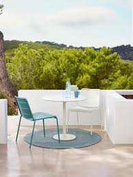 lightweight furniture for modern patio with cane line