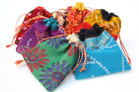party favor bags indian party favor bags jewelry pouches small by catfluff on zibbet