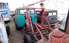 willys jeep pickup lifted the street peep willys jeep forward control stockpile 1958