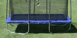 Safest Trampoline For Backyard by Best Rectangular Trampoline The Backyard Site