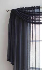 Sheer Navy Curtains Sheer Navy Curtains Sheer Navy Blue Window Scarves Rod Pocket