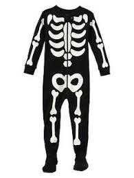 Glow In The Dark Skeleton Costume Skeleton Bones Costume Child Boys Infant Toddler Scary 24m 2t