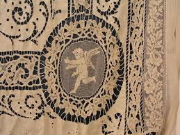 Antique Lace Curtains Antique Lace Curtains Belgian Antique Lace Curtain Panel