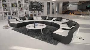 canapé design d angle canapé d angle design en cuir marelina u 2 089 00