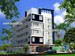 3D House Elevation Designs 3D Elevation Design Architect