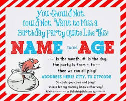 dr seuss birthday invitations best 25 dr seuss invitations ideas on dr seuss