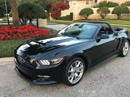 Black Convertible Mustang 2015 Ford Mustang Gt Conv Triple Black 50th Anniv Pkg Sold