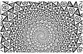 psychedelique 1 psychédélique coloriages difficiles pour