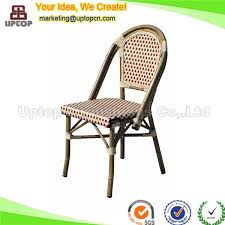 Woven Bistro Chairs Sp Oc429 Wholesale Antique Stackable Pe Rattan Bistro Chairs