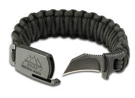 buckle paracord bracelet images Edge para claw large paracord bracelet 1 5 quot survival defense knife jpg