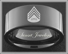 marine wedding rings usmc black tungsten s wedding ring engraved with marine s
