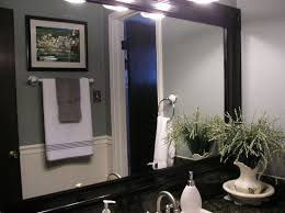 framing bathroom mirrors hometalk