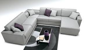 comment recouvrir un canape d angle fresh canapé d angle en cuir marron architecture