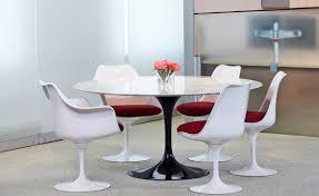 chair fiberglass tulip dining table furniture saarinen and chairs