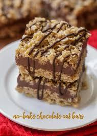 no bake thanksgiving appetizers no bake chocolate oat bars lil u0027 luna