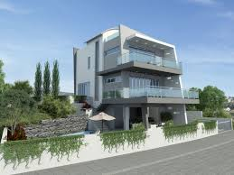 narrow modern house large ultra modern house plans home deco plans