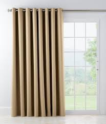 Slider Door Curtains Sliding Door Curtains Drapes Country 1 2 Mini Blinds Inch Faux