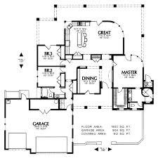 craftsman style house plan 3 beds 2 50 baths 2233 sqft 48 639