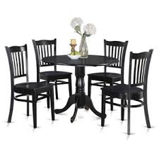 black dining room sets black kitchen dining room sets you ll wayfair