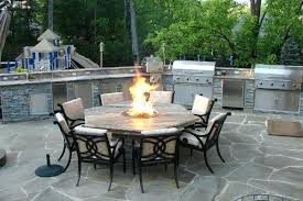 patio furniture fire pit table set innovative fire pit patio sets