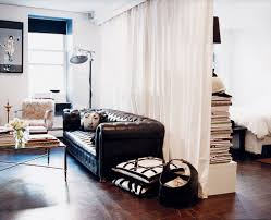 how to style a bed in a studio apartment popsugar home