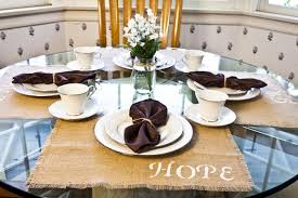 how to make stenciled burlap placemats snapguide