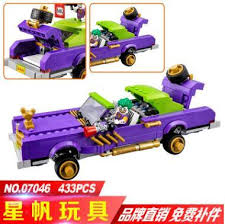 2017 new lepin 07046 genuine movie series the joker u0027s lowrider set