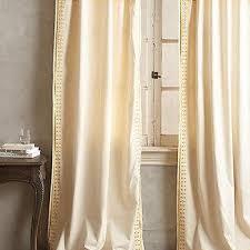 Worldmarket Curtains Cornsilk Chelsea Curtains Set Of 2 World Market