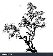 classic pine tree painting search inspirations