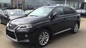 2015 Lexus Rx 350 Awd Sportdesign Edition Review Black On Saddle