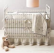 Restoration Hardware Crib Bedding Knotted Sheep Nursery Bedding Collection
