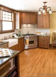 Prairie Style Kitchen Cabinets Finished Period Kitchen 1925 Craftsman Bungalow White
