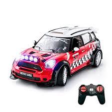 remote control car lights ptl bmw mini cooper remote control car for kids working lights