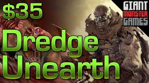 budget mtg deck tech modern dredge unearth 35 youtube
