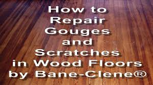 Laminate Flooring Scratch Remover How To Repair Scratches Gouges And Holes In Wood Floors Youtube