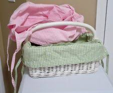 Pottery Barn Baskets With Liners Pottery Barn Wicker Décor Baskets Ebay