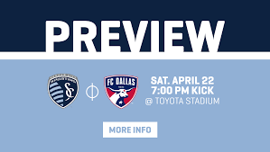 Fc Dallas Field Map by Preview Undefeated Teams Square Off As Sporting Kc Visits Fc