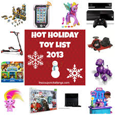 holiday toy list 2013