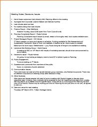 12 sample meeting minutes template job resumes word