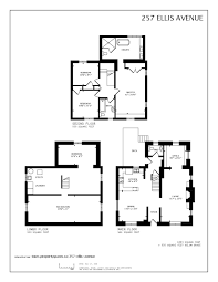 Ellis Park Floor Plan by 257 Ellis Avenue Toronto On Sidorova Inwood Team